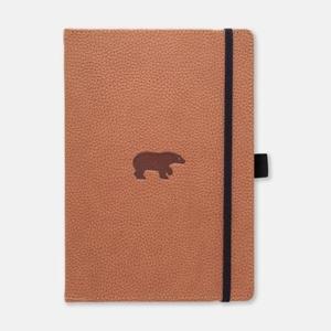 Dingbats Notebook A5+ Wildlife Brown Bear Lined