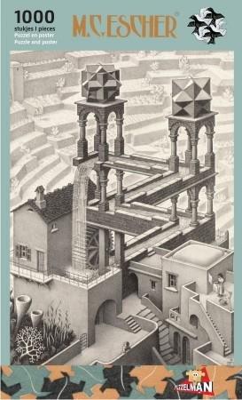Puzzel Escher - Waterval 1000 stukjes