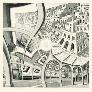 Puzzel Escher - Prentenkabinet 210 stukjes