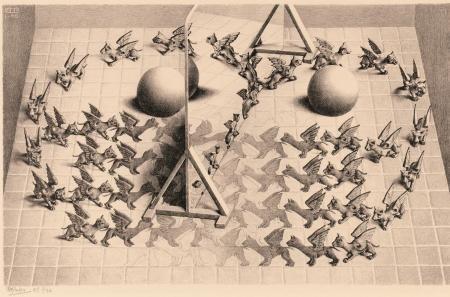 Puzzel Escher - Toverspiegel 1000 stukjes