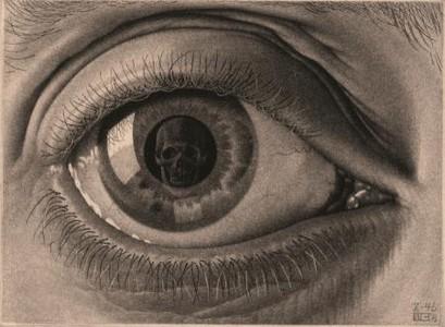 Puzzel Escher - Oog 1000 stukjes