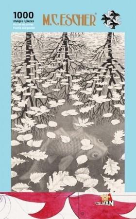 Puzzel Escher - Drie Werelden 1000 stukjes