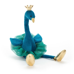 Fancy Peacock MediumKnuffel Jellycat