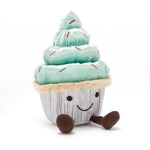 Minty Cutie Cupcake Jellycat Knuffel