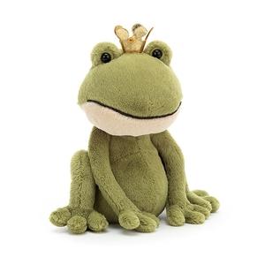Felipe Frog Prince Medium Knuffel Jellycat