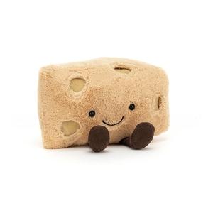 Amuseable Swiss Cheese Knuffel Jellycat