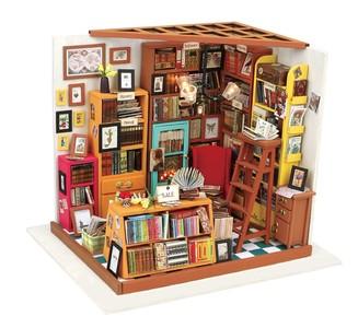 Bouwpakket DIY House Sam's Study 1:24
