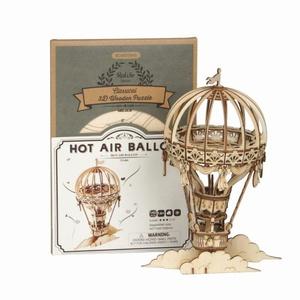 3D Puzzel Hot Air Balloon