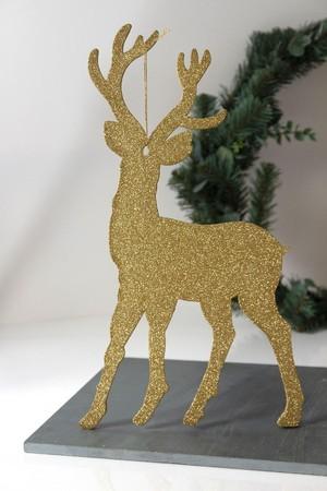 Glitter Hert Goud