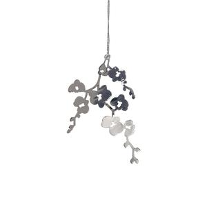 Hanger Orchid Zilver