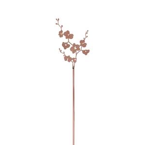 Decoratie Stick Orchid Koper 40.5 cm