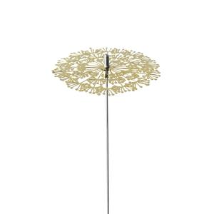 Decoratie Stick Dandelion Goud 25 cm