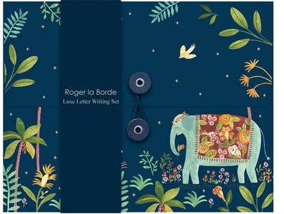 Briefpapier Over the Rainbow Elephant