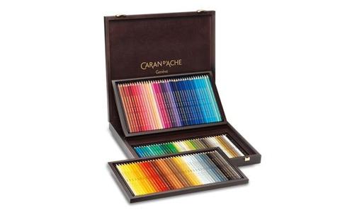 Caran d'Ache Supracolor kleurpotloden 120 stuks in houten kist