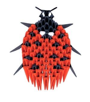 Creagami Origami 3D Lieveheersbeestje