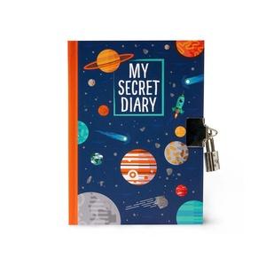 Legami My Secrets Dagboek met Slot - Planets