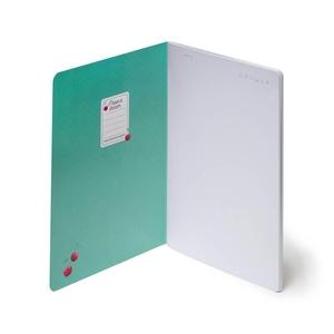 Legami Quaderno A5 Schrift Blanco - Cherry