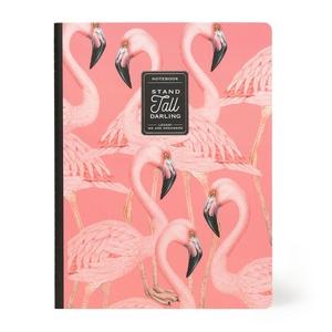 Legami B5 Schrift - Flamingo