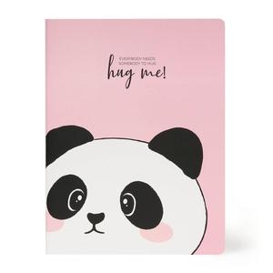 Legami B5 Schrift - Panda