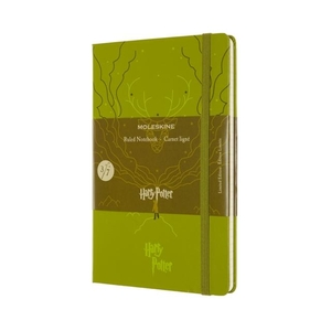 Moleskine Notebook Harry Potter Limited Edition Green  POTTER LIMITED EDITION L
