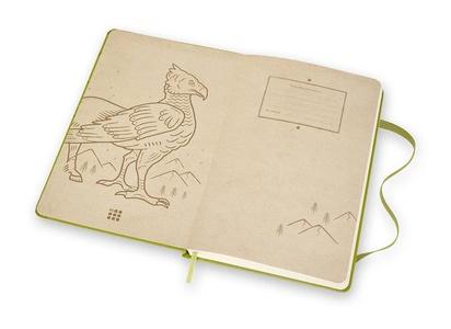 Moleskine Notebook Harry Potter Limited Edition Green  POTTER LIMITED EDITION L