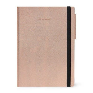 Legami My Notebook Large Rose Gold Blanco Notitieboek