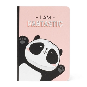 Legami Quaderno A6 Schrift - Pantastic Panda