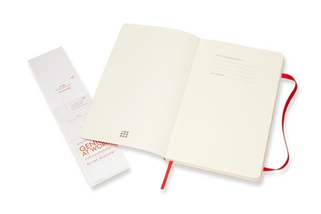 Moleskine Notebook Large Dotted Scarlet Red Soft Cover