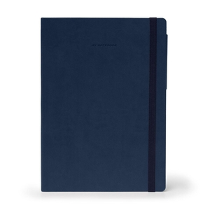 Notitieboek My Notebook Large Blue - gelinieerd