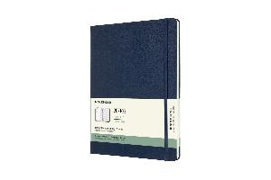 Moleskine Weekly Notebook Diary/Planner XL Sapphire Blue Hardcover 18 maanden 2021-2022