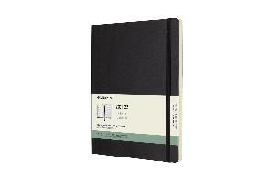 Moleskine Weekly Notebook Diary/Planner XL Black Softcover 18 maanden 2021-2022