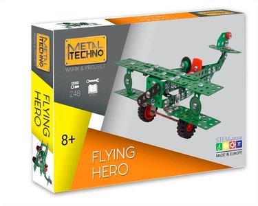 Metal Techno Flying Hero tweedekker