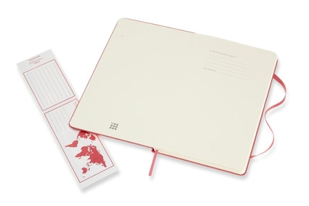 Moleskine Classic Notebook Large Ruled Hard Cover Daisy Pink