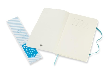 Moleskine Classic Notebook Large Ruled Soft Cover Reef Blue