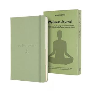 Moleskine Passion Journal - Wellness Willow Green Notebook