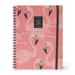 Legami Maxi Trio A4 Notitieboek - Flamingo