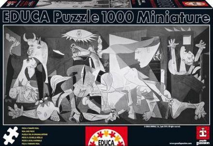 Puzzel Miniature Picasso - Guernica 1000 stukjes