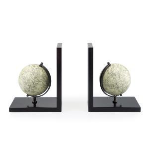 Boekensteun Mappamondo Globe hout set Balvi