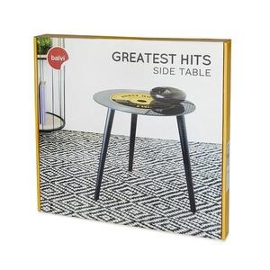 Bijzettafel Greatest Hits Vinyl Geel