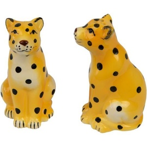 Cheetah Salt & Pepper Set