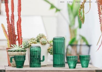 Saguaro Cactus Glasses - Cactusglazen Doiy Design