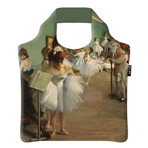 Ecozz Ecoshopper opvouwbaar tasje the Dance Class - Degas