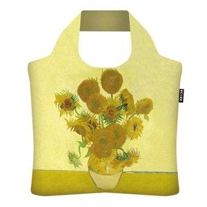 Ecozz Ecoshopper opvouwbaar tasje Sunflowers - Vincent van Gogh