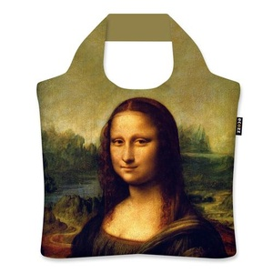 Ecozz Ecoshopper opvouwbaar tasje Mona Lisa - Leonardo da Vinci