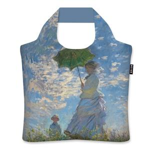 Ecozz Ecoshopper opvouwbaar tasje Woman with Parasol - Claude Monet