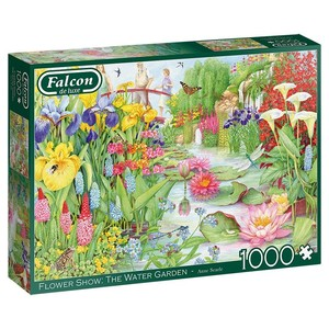 Puzzel Falcon The Flower Show - the Watergarden 1000 stukjes