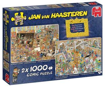 Jan van Haasteren - Trip naar het Museum Puzzel 2 x 1000 stukjes