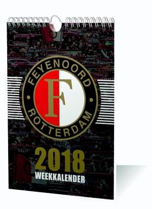 FEYENOORD WEEKKALENDER 2018 KALENDER