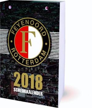 SCHEURKALENDER 2018 FEYENOORD KALENDER
