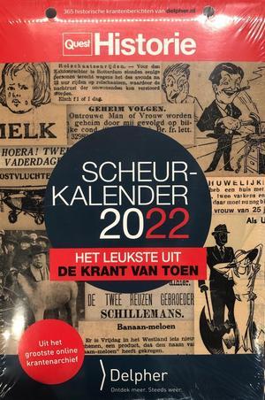 Quest Historie scheurkalender 2022